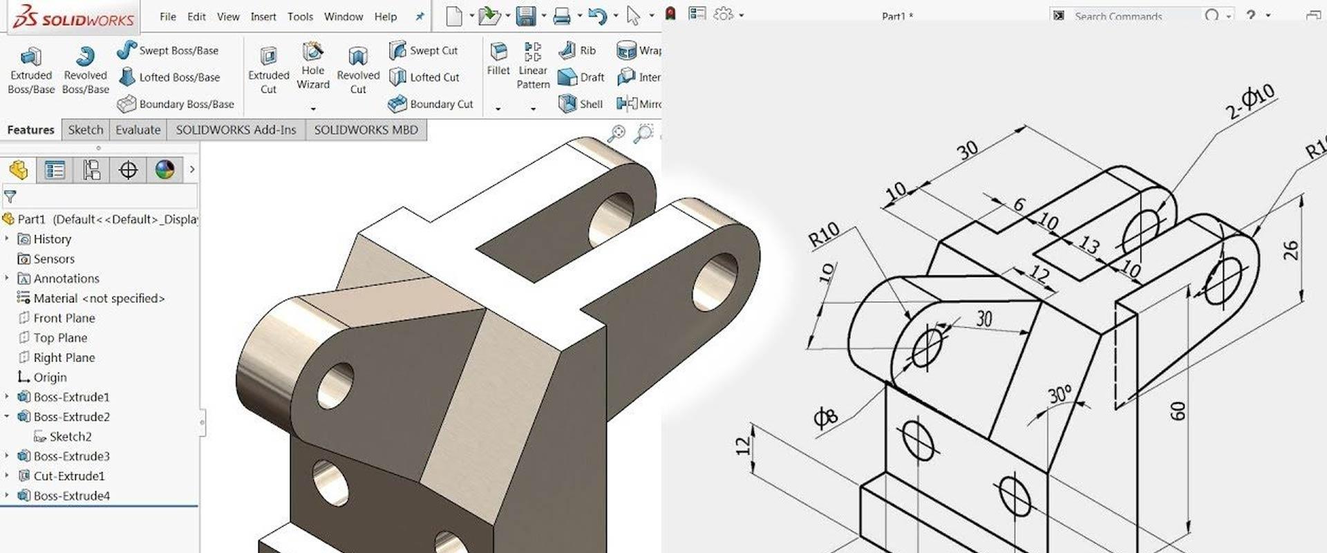 çizim ve tasarım hizmeti autocad solidworks